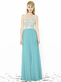 After Six Bridesmaids Style 6715 http://www.dessy.com/dresses/bridesmaid/6715/#.VR9MWI7F-Ck