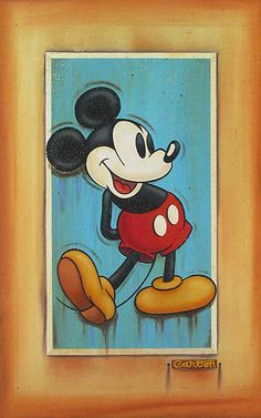 Vintage Mickey. For my birthday if you know me you know  i am a big fan of Disney ..i got a great vintage Disney calendar mickey you my kinda mouse ..sexy you