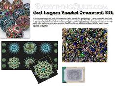 Beaded Ornament Kit - Cool Lagoon - EQ Exclusive!