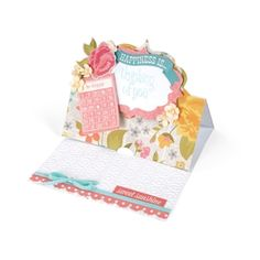 Thinking of You Stand-Up Card From birthdays and special occasions to the holidays and more, this project offers just a bird's eye view of what you can create with designs from Stephanie Barnard.