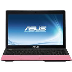 Asus K55A Intel Celeron Processor 4Gb 320Gb 15.6in Laptop Pink ❤ liked on Polyvore featuring accessories, tech accessories, gadgets and asus