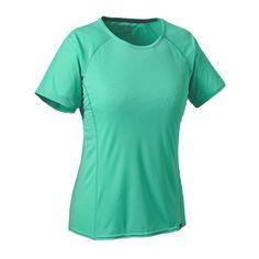 W's Capilene® Lightweight T-Shirt, Galah Green (GLHG)
