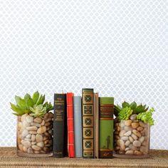 Un vase serre-livres pour décorer votre intérieur! Voici 20 idées pour vous inspirer…