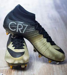 new york 510b1 167fe Nike Mercurial Superfly CR7 Rare Gold Tacos De Futbol Nike, Botines De Futbol  Nike,