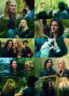 I totally loved Finn and Clarke :( but then Finn's gf came to Earth Dx I was so saaddd D': but now I totally ship Bellarke :)