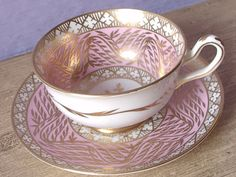 Vintage 1940's Bone China teacup and saucer Royal by ShoponSherman