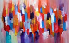 paintings of natur Abstract on Canvas for Kids Scenes Love Beauty and Environment Wallpapers Easy Sc: Abstract Painting
