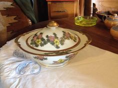 Vintage Asian Covered Tureen With Brilliant by UpNorthAntiques
