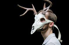 Cervine Skull Mask II