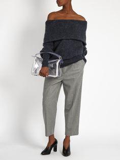 Daze off-the-shoulder sweater | Acne Studios | MATCHESFASHION.COM US
