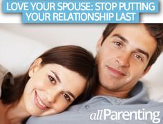 Who else is guilty of always putting the kids first? Stop putting your relationship last...