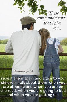 Deuteronomy 6:6-7