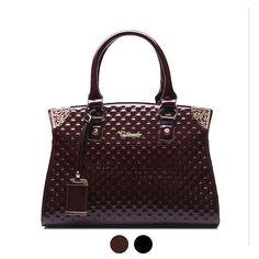 7323a2f4080 Top-Handle Bags · large Glossy patent leather ladies women s saffiano top-handle  shoulder bag handbag Totes female bolsa