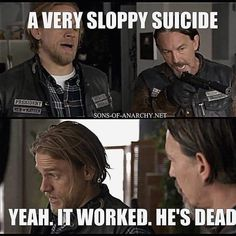 """201 Likes, 4 Comments - Sons of Anarchy Army (@sons.of.anarchy.army) on Instagram: """"#sonsofanarchy #claymorrow #soaislife #lostcityofz #abelteller"""""""