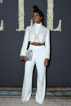 Janelle monae Paris fashion week