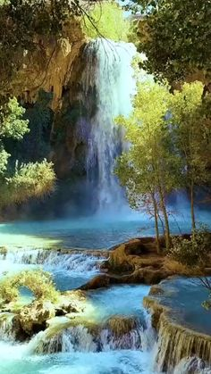 Beautiful Love Pictures, Beautiful Nature Scenes, Beautiful Photos Of Nature, Beautiful Nature Wallpaper, Beautiful Gif, Beautiful Landscapes, Beautiful Places, Waterfall Scenery, Landscape Photography