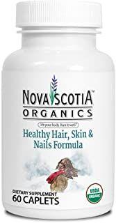 Nova Scotia Organics Healthy Hair, Skin & Nails Formula (60 Caplets) - NPN 80078446