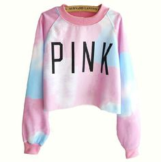 $26.00 | Harajuku style tie-dye gradient color long-sleeved sweater