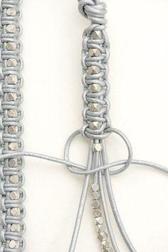 Make Your Own Jewelry Cord Bracelets Diy Accessories Diy Art Hemp Jewelry Diy Jewelry Jewelery Macrame Colar Bracelet Tutorial Diy Bracelets Easy, Macrame Bracelets, Making Bracelets, Beaded Wrap Bracelets, Macrame Knots, Diy Friendship Bracelets With Beads, Braclets Diy, Diy Bracelets With String, Knotted Bracelet
