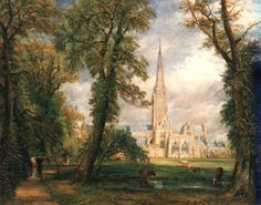 Salisbury Cathedral, 1822