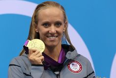 Dana Vollmer: US Olympian Wins Gold With World Record in Women's 100m Butterfly
