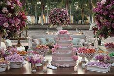 mesa do bolo!
