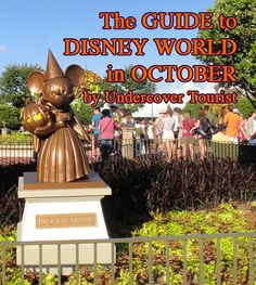 Disney World, Universal Orlando & SeaWorld Orlando -Planning for October by @Undercover Tourist! #Disney #Universal #SeaWorld
