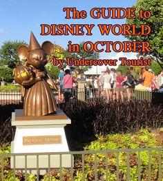 Disney World planning October