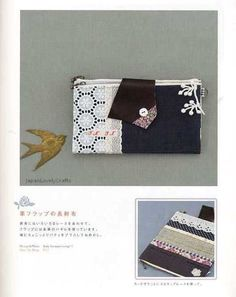 Handmade Wallets 2 Japanese Sewing Pattern by JapanLovelyCrafts