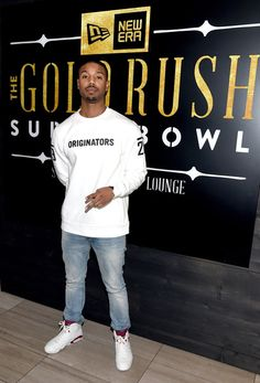 Michael B. Jordan Photos - Actor Michael B. Jordan attends the New Era Style Lounge at The Battery on February 4, 2016 in San Francisco, California. - New Era Style Lounge - Thursday February 4, 2016