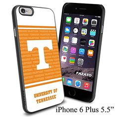 """NCAA W THE UNIVERSITY OF TENNESSEE , Cool iPhone 6 Plus (6+ , 5.5"""") Smartphone Case Cover Collector iphone TPU Rubber Case Black Phoneaholic http://www.amazon.com/dp/B00VVOULRQ/ref=cm_sw_r_pi_dp_oyFnvb1G1PNZR"""