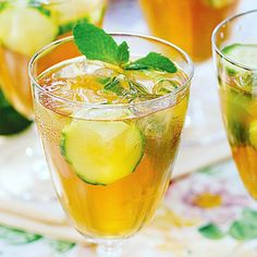 It looks like the weather might finally be going our way, so it's time to bring our Pimm's out on the lawn with our #COTD, a Cucumber Pimm's Cocktail. Infuse cucumbers in #Vodka overnight, then add #Pimm's, #LemonLimeSoda, #Cucumbers #mint and a little #LimeJuice for a cocktail that is as refreshing as the sight of the sun. #cocktails #mixology #PimmsCocktails #cocktailcollective #DrinksWithFriends #cocktailsathome #homemixology