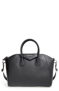 Givenchy  Medium Antigona  Leather Satchel available at  Nordstrom Leather  Satchel Handbags 14fe3648b0d21