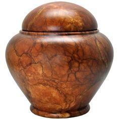 Memorial Gallery ALJ-161-MA Alabaster Stone Grandeur Cremation Pet Urn, Full Size >>> Read more  at the image link.
