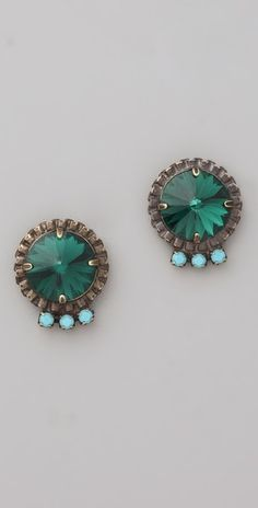 vintage, yet modern! DANNIJO Bracco Earrings
