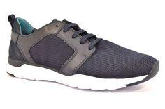 GEOX U722GB 01143 C4002 CALAR TEXT BLU Sneakers Scarpe Uomo Tessuto Estive  Pelle c523482c9a4