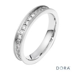 Maximize the brilliance, blaze, and sparkle with this stunning Dora diamond ring.