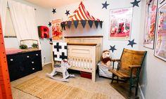 Vintage Circus Nursery