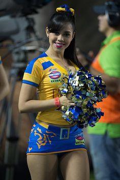 Porrista del Tigres de Monterrey FC MX