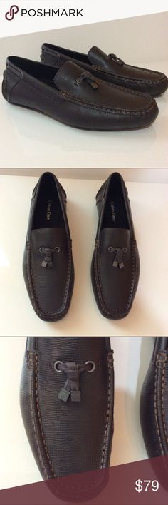 Calvin Klein Macon Loafers Brand new. Leather. Calvin Klein Shoes Loafers & Slip-Ons