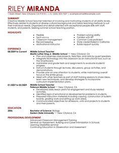 esl resume examples