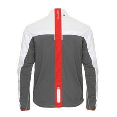 mens white softshell running merino jacket ashmei