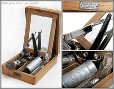 Old shaving kit