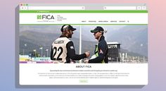Federation of International Cricketers' Associations | KNOWN DESIGN CO  #responsive #wordpress #website #design #websitedesign #web #webdevelopment #knowndesignco #knowndesign #known @FICA_Players