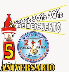 ALMACEN OPORTO: Almacén Oporto Cartago V Aniversario #SigueElGorroBuenaMar #sigueElGorroBuenaMarJeans