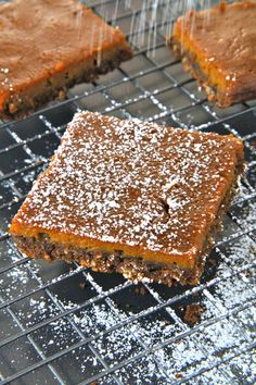 gingerbread pumpkin bars MUST make these in the fall!!