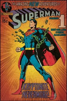 Roommates Rmk1633Slg Superman Kryptonite Peel And Stick Comic Cover ** Click on the image for additional details.Note:It is affiliate link to Amazon.