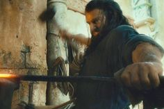 Thorin Is So Handsome. Young Thorin In Erebor. The Hobbit: An Unexpected Journey.