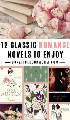 Looking for the best classic romance novels to read? These 12 classic books offer up some amazing love stories (and fun romance elements, even if the book doesn't strictly fall into the romance genre), so you are sure to find an enjoyable next read on this list! | #books #romance #classics | best classic romance novels list | classic romance novels literature | classic romance novels Pride and Prejudice | classic romance novels love | classic romance books reading list | classic romance…