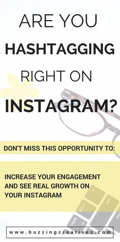 How to effectively Hashtag on Instagram. Hashtags are key in making your Instagram feed discoverable. They also keep your images alive since otherwise your images have a short shelf life, keeping them alive means they will forever be discoverable under th